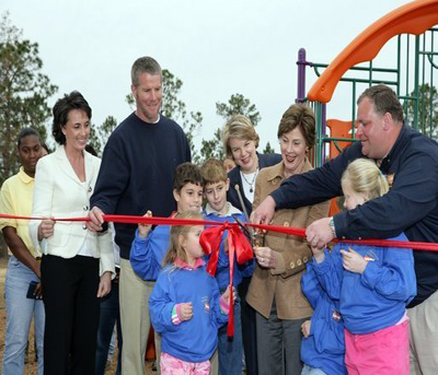 Generic picture of man cutting ribbon